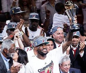 «Майами Хит» стала чемпионом НБА