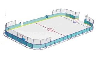Хоккейный борт , хоккейное оборудование