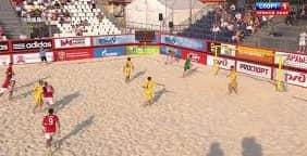 Пятый этап Евролиги по пляжному футболу сезона-2013 в Москве